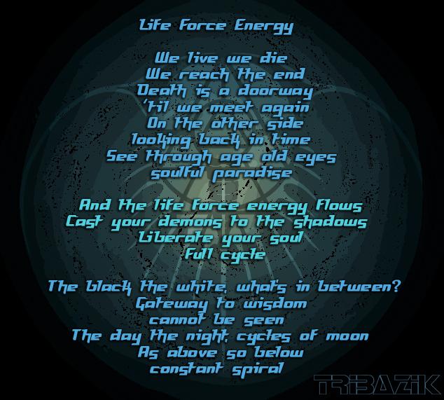 Tribazik Life Force Energy